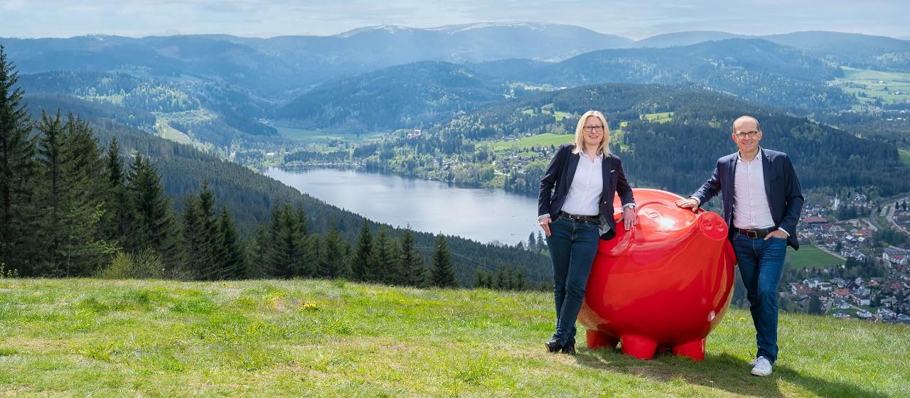 Vorstand vor Schwarzwaldpanorama